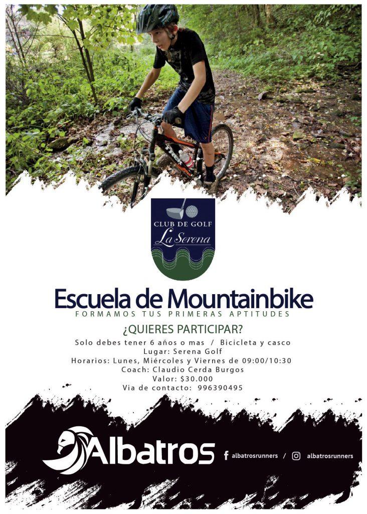 ¡Inscribe a tus hijos en la Escuela de Mountain Bike!